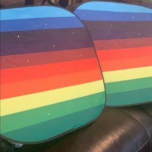 New!! Rainbow Car Sun Shade